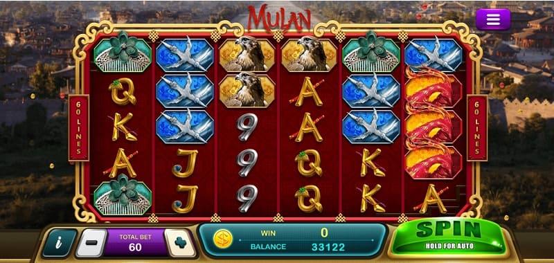 รีวิวเกมสล็อต-Mulan