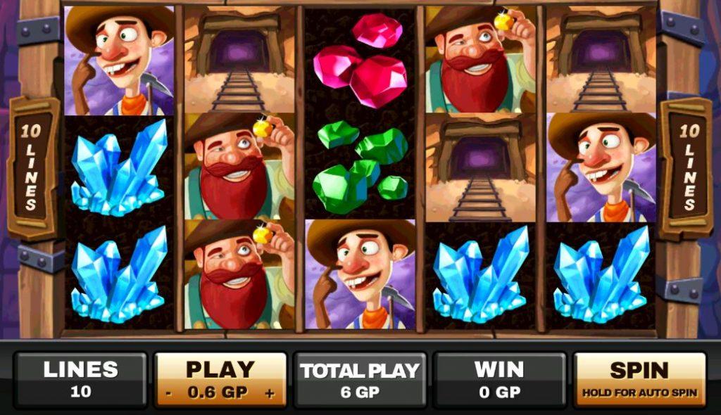รีวิวเกมสล็อต Happy Miners
