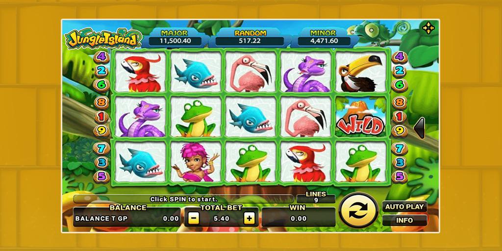 รีวิวเกมสล็อต-Jungle Island-1