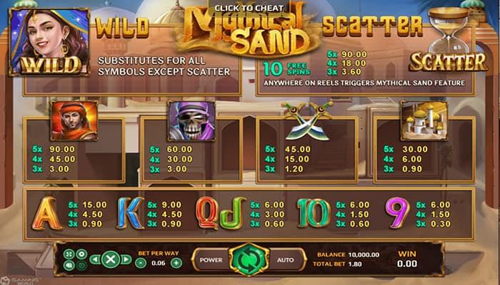 Mythical Sand-รีวิว