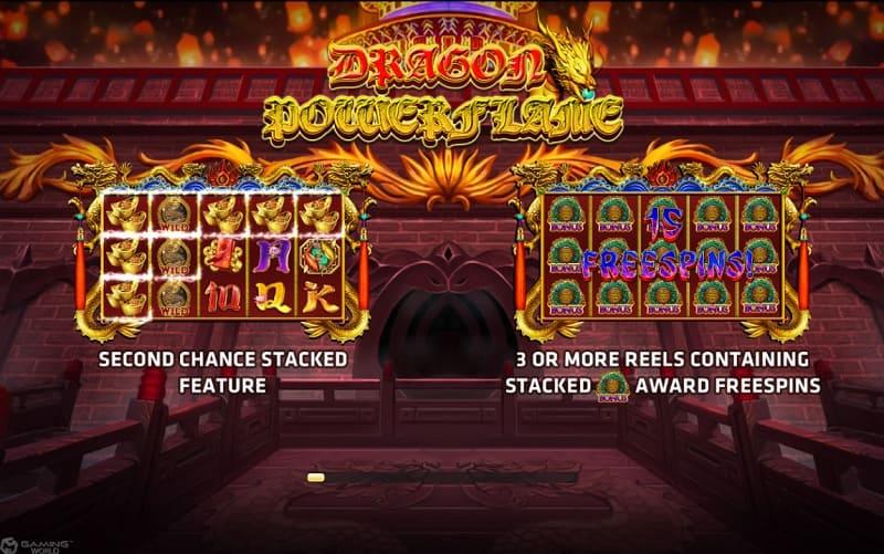 รีวิวเกมสล็อต Dragon Power Flame