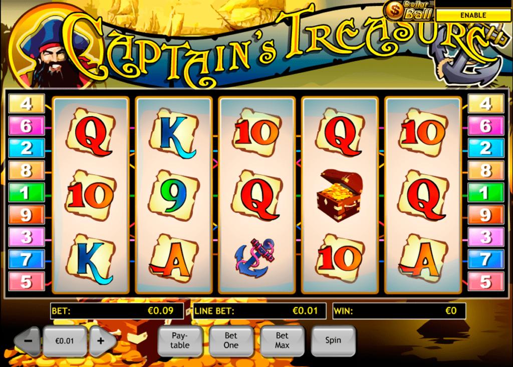 ทดลองเล่น Captains Treasure 11