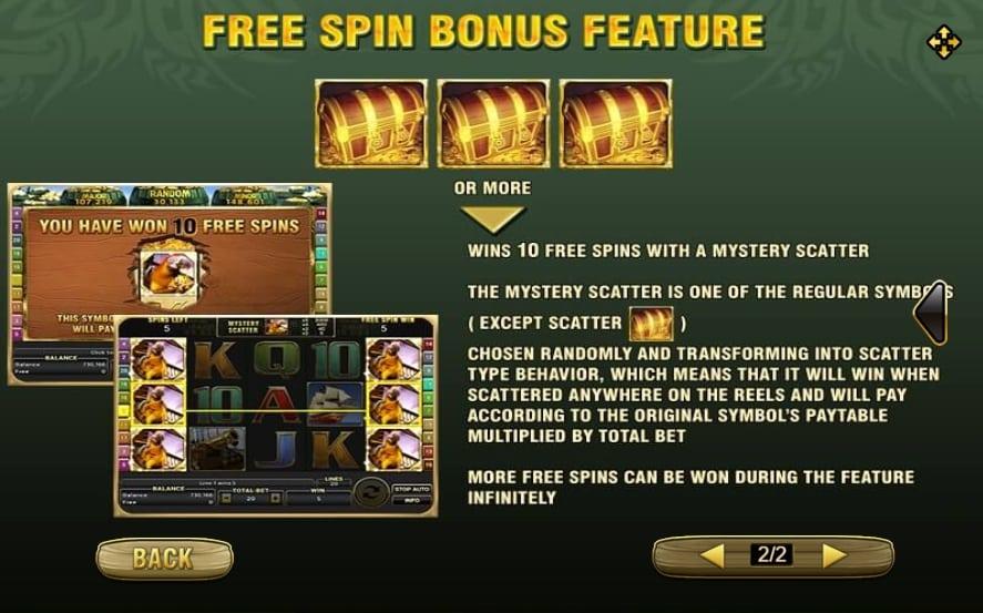 ทดลองเล่น Captains Treasure Pro 3