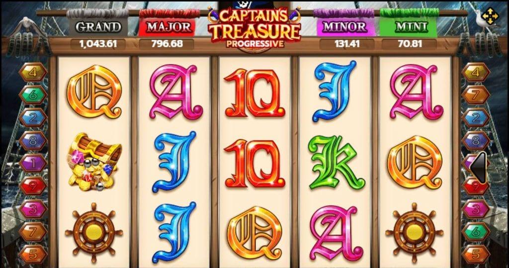 ทดลองเล่น Captains Treasure Progressive 1