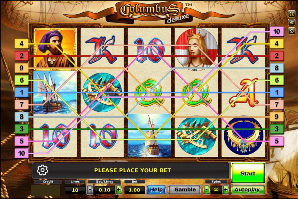 ทดลองเล่น Columbus 4