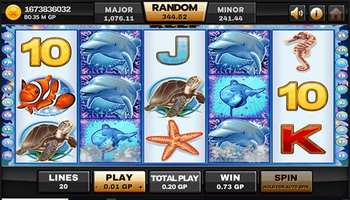 ทดลองเล่น Dolphin Reef 1