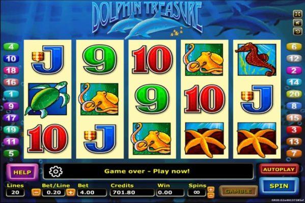ทดลองเล่น Dolphin Treasure 1