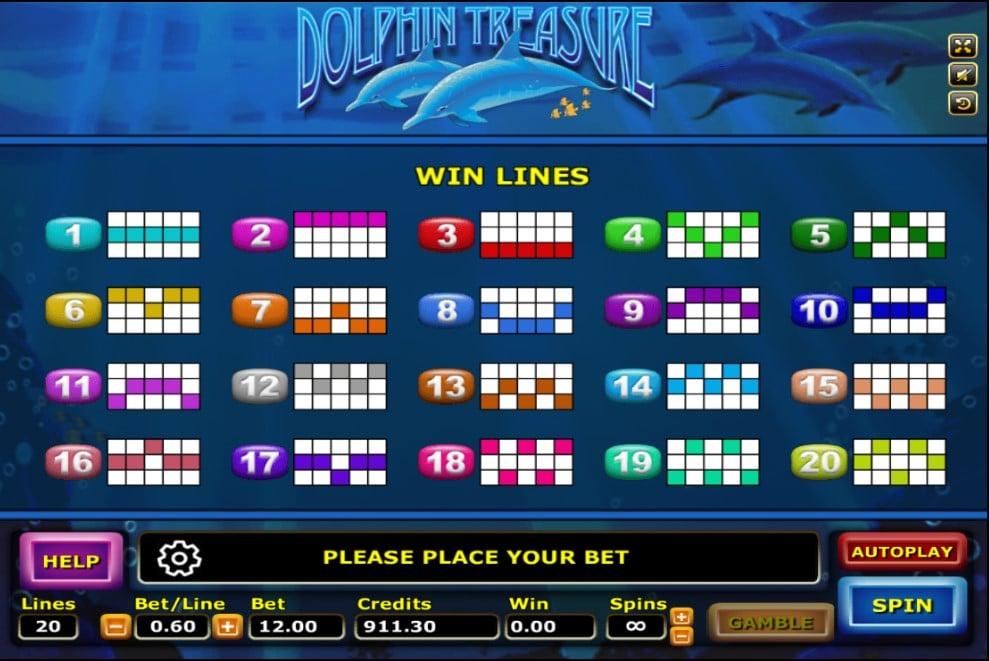 ทดลองเล่น Dolphin Treasure 3