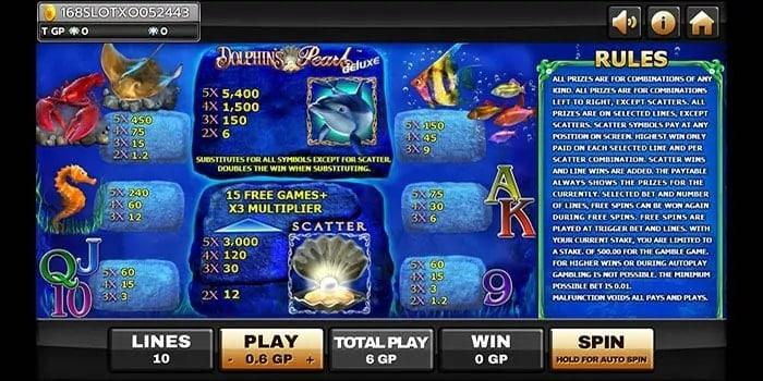 ทดลองเล่น Dolphins Pearl Deluxe 3