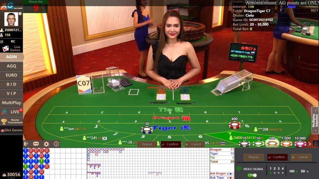 Asia Gaming เสือมังกร