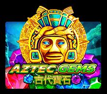 ทดลองเล่น เกมสล็อต Aztec Gems ชาวพื้นเมืองแอซเท็ค | JOKER123