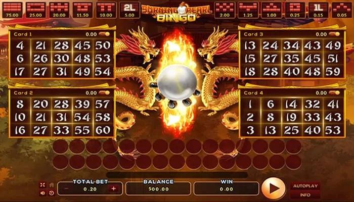Burning Pearl Bingo 2