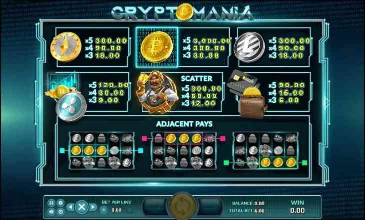 Crypto Mania Bingo 1