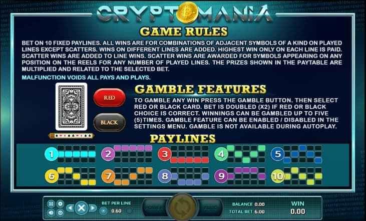 Crypto Mania Bingo 3