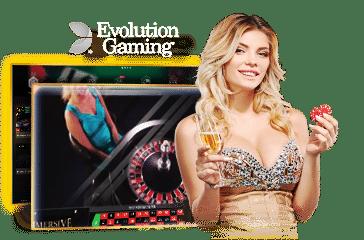 Evolution Gaming เกมคาสิโนสุดฮิต เว็บพนันออนไลน์ 24 ชั่วโมง