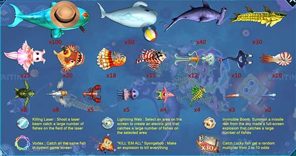 Fish Hunter Spongebob 2