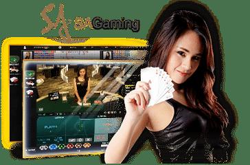 SA Gaming คาสิโนออนไลน์อันดับ 1 เกมสล็อต บาคาร่า 24 ชั่วโมง