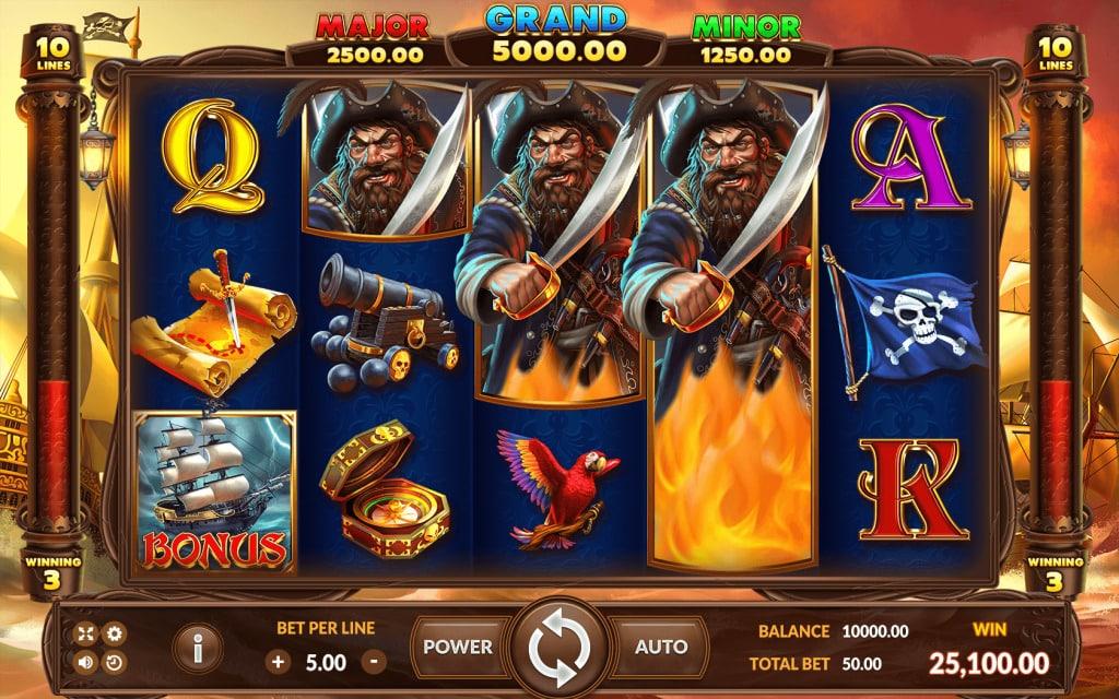 BLACKBEARD LEGACY เกมสล็อตออนไลน์
