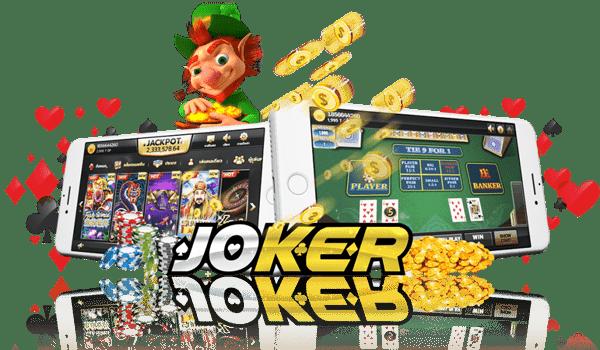 joker สล็อต เกมสล็อตบนมือถือที่แจกโบนัสเยอะที่สุด ภาพสวยระบบดีได้เงินเร็ว