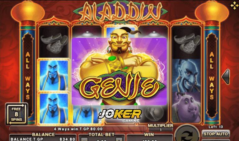 ทดลองเล่น Aladdin เกมสล็อตการ์ตูนพ่อค้าอะลาดิน 2021