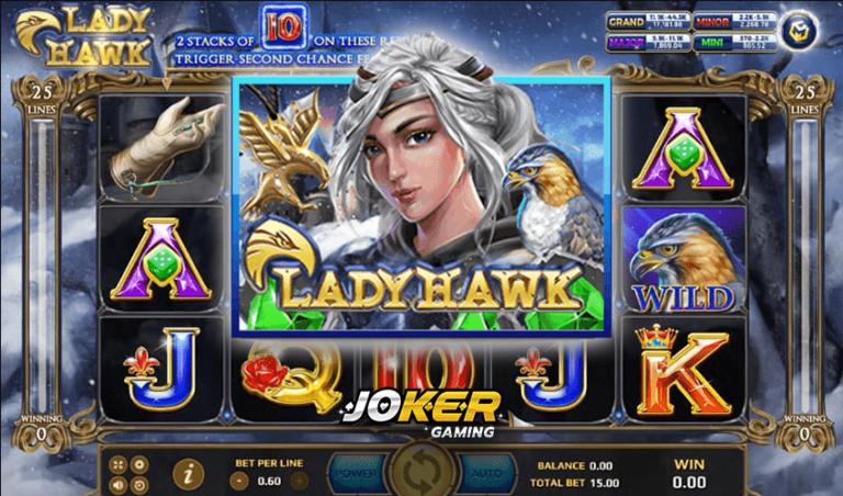 ทดลองเล่น Lady Hawk เกมสล็อตพญานกเยี่ยวสุดมันส์ 2021