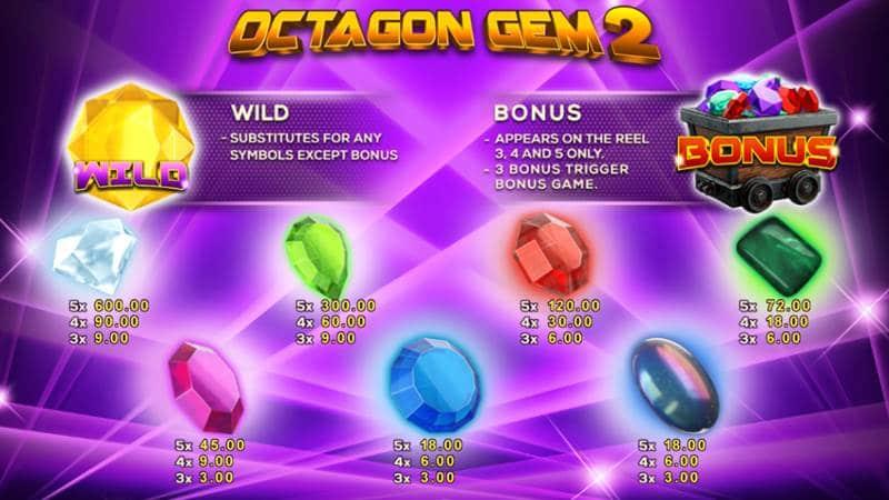 ทดลองเล่น Octagon Gem 2