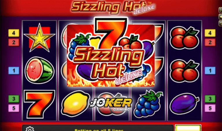 ทดลองเล่น Sizzling Hot deluxe เกมสล็อตผลไม้แบบคลาสสิค 2021