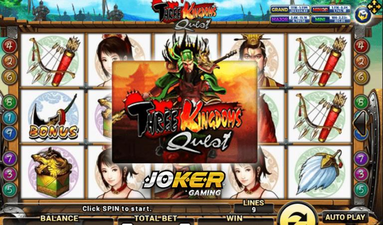 ทดลองเล่น Three Kingdoms Quest เกมสล็อตสามก๊ก 2021