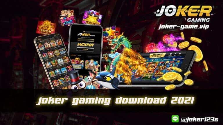 joker gaming download 2021